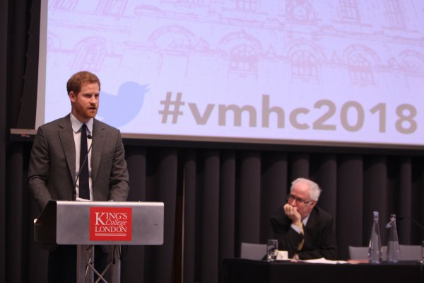 Prince Harry - Veterans' Mental Health Conference , le 15 Mars 2018