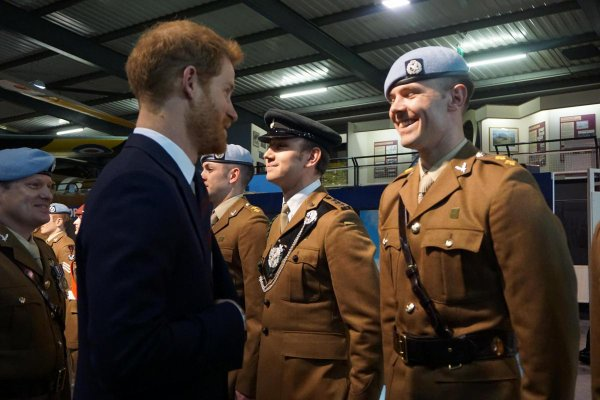 Prince Harry - Ceremony The Museum of Army Flying , le 16 Mars 2018 _ Suite