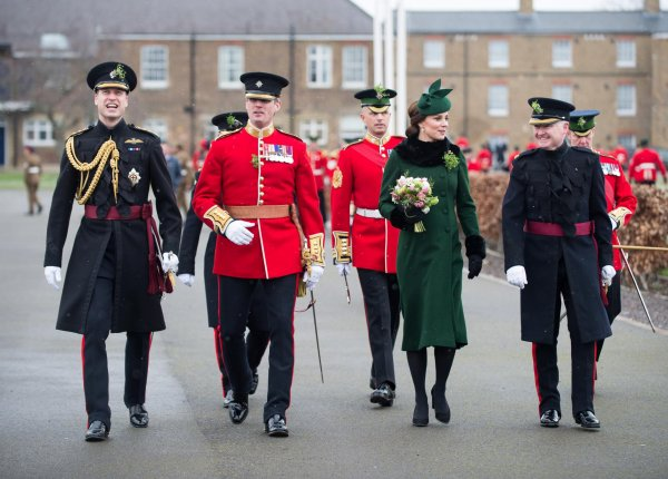 William & Catherine - Irish Guards St Patrick's Day Parade , le 17 Mars 2018 _ Suite