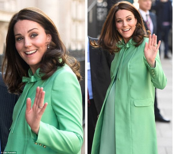 Duchess Catherine - The Royal Society of medicine , le 21 Mars 2018 _ Suite