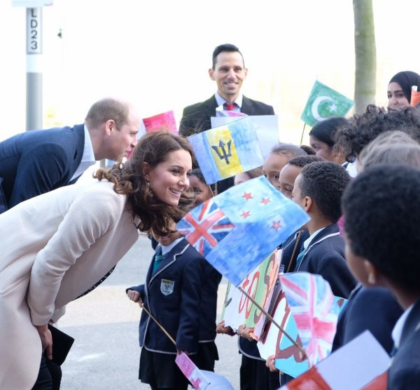 William & Catherine - Celebrating The Commonwealth , le 22 Mars 2018