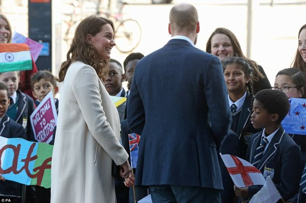 William & Catherine - Celebrating The Commonwealth , le 22 Mars 2018 _ Suite