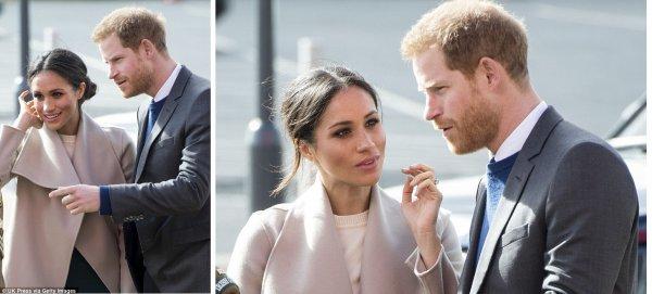 Prince Harry & Miss Meghan Markle - Belfast , le 23 Mars 2018