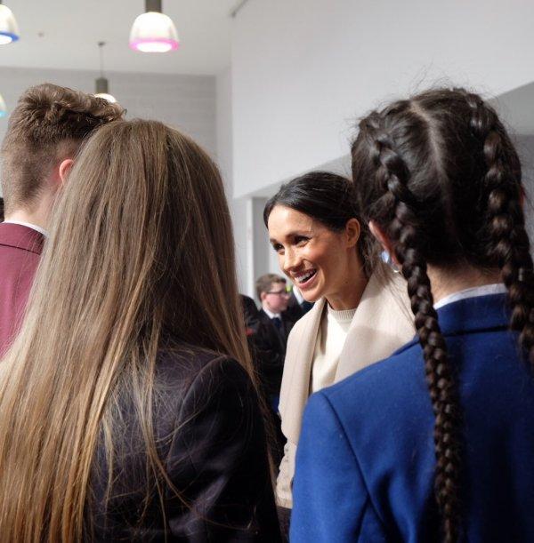 Prince Harry & Miss Meghan Markle - Belfast , le 23 Mars 2018 _ Suite