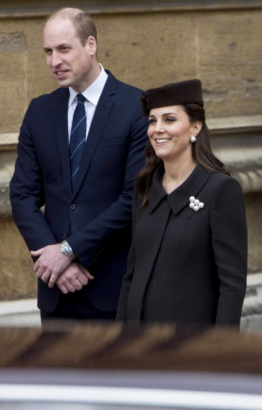 William & Catherine - Easter Mattins Service , le 01er Avril 2018 _ Suite