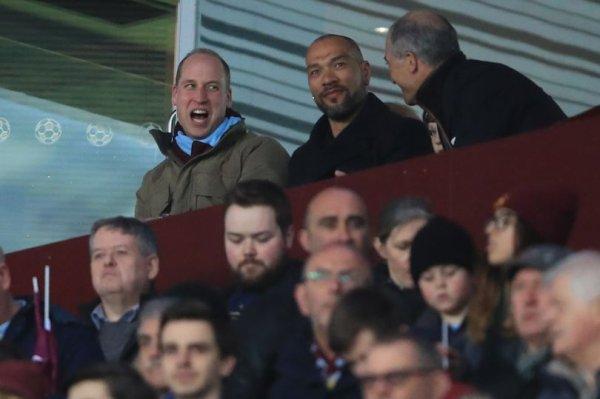 Prince William - Aston Villa v Cardiff City Match , le 10 Avril 2018