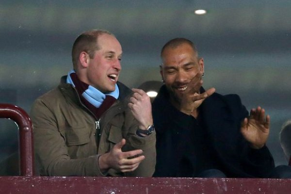 Prince William - Aston Villa v Cardiff City Match , le 10 Avril 2018 _ Suite