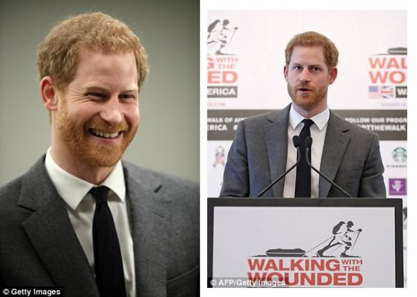 Prince Harry - the 'Walk Of America' Launch , le 11 Avril 2018