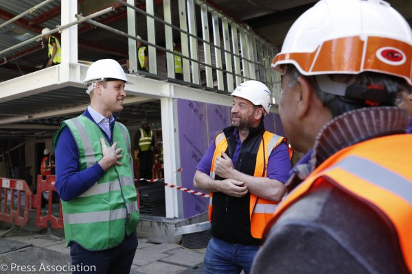 Prince William - Joins Crew Of DIY SOS For Grenfell Special , le 15 Mai 2018 _ Suite