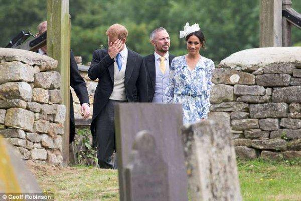 The wedding of Celia McCorquodale & George Woodhouse , le 16 juin 2018