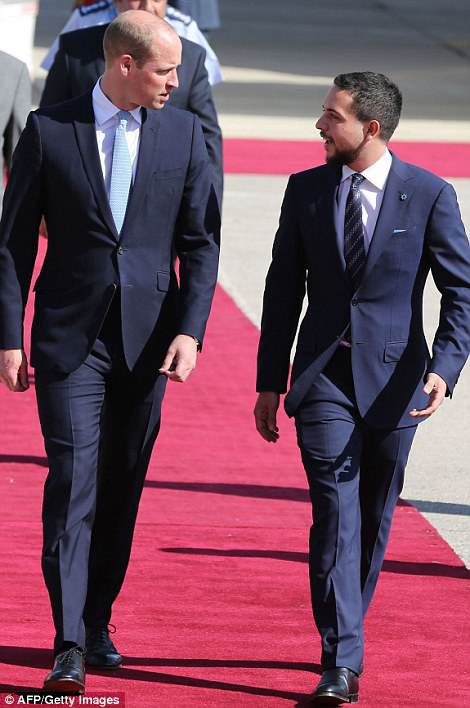 Prince William - Jordan, Israel And The Occupied Palestinian Territories