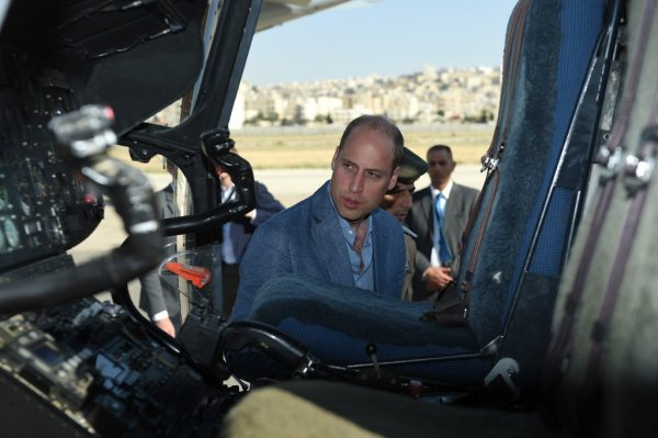 Prince William - Jordan, Israel And The Occupied Palestinian Territories _ Suite