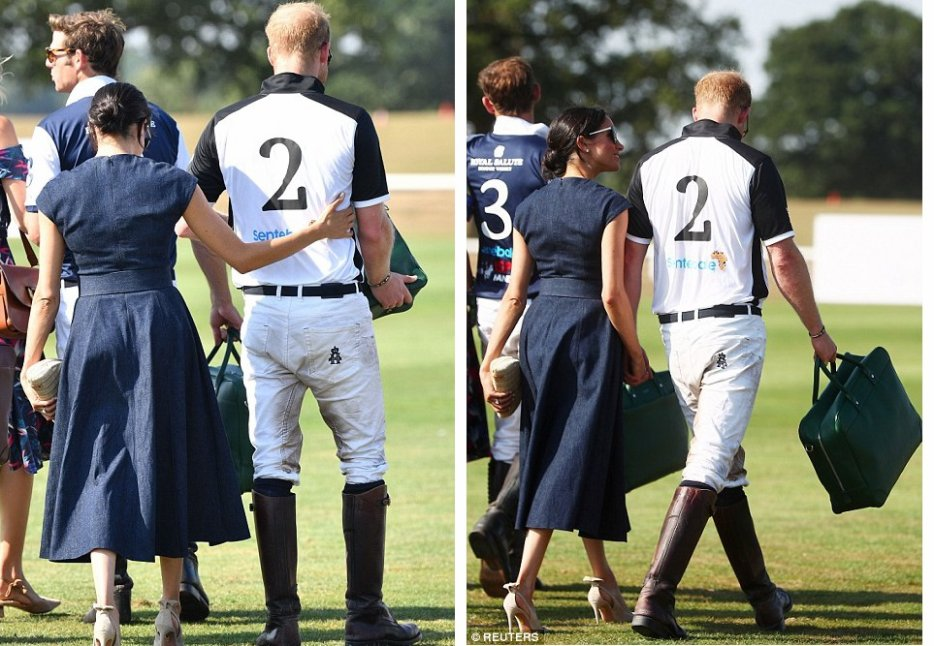 Harry & Meghan - Sentebale Polo 2018 , le 26 juillet 2018 _ Suite