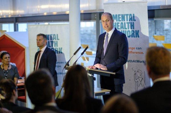 Prince Wiliam - Mental Health At Work' Initiative , le 11 Septembre 2018 _ Suite