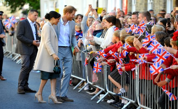 Harry & Meghan Of Sussex - SUSSEX TOUR  , le 03 octobre 2018