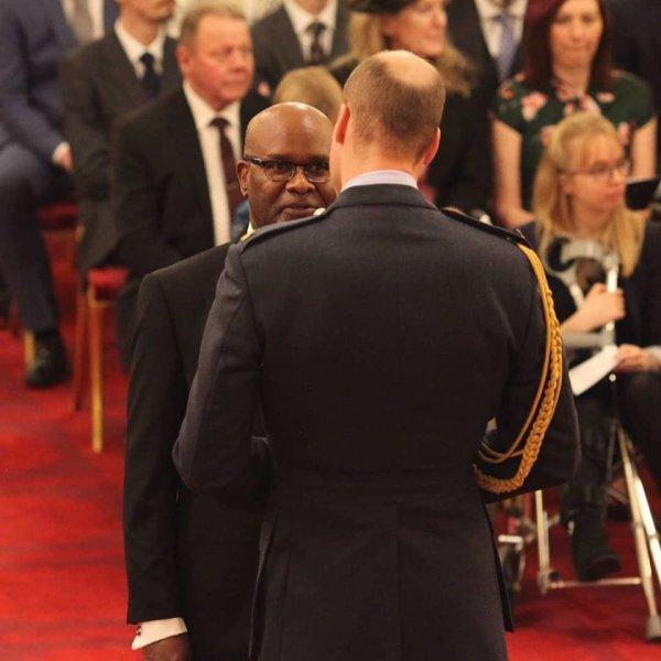 Prince William - Investiture  Buckingham Palace , le 07 Décembre 2018