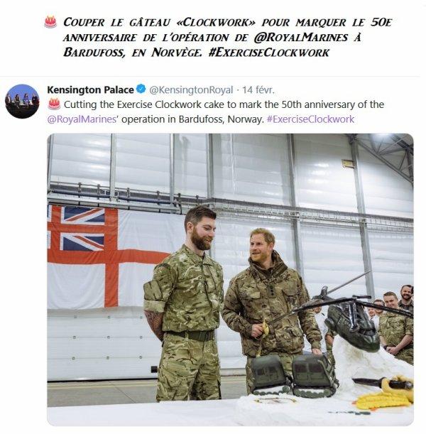 Le 14 février 2019 - Harry Of Sussex _ Suite