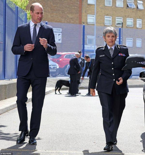 Prince William - Croydon Custody Centre , le 12 Mai 2021 _ Suite
