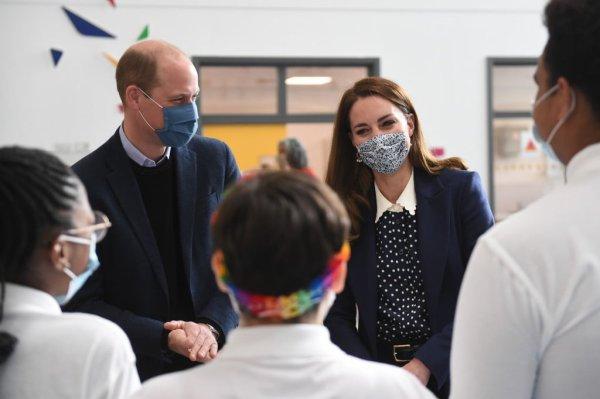 William & Catherine - Engagements Wolverhampton, le 13 mai 2021