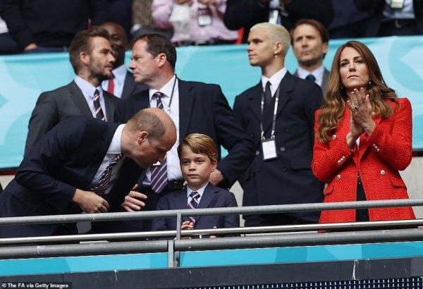William , George et Catherine -  Uefa Euro 2020 at Wembley Stadium, le 29 Juin 2021 _ Suite