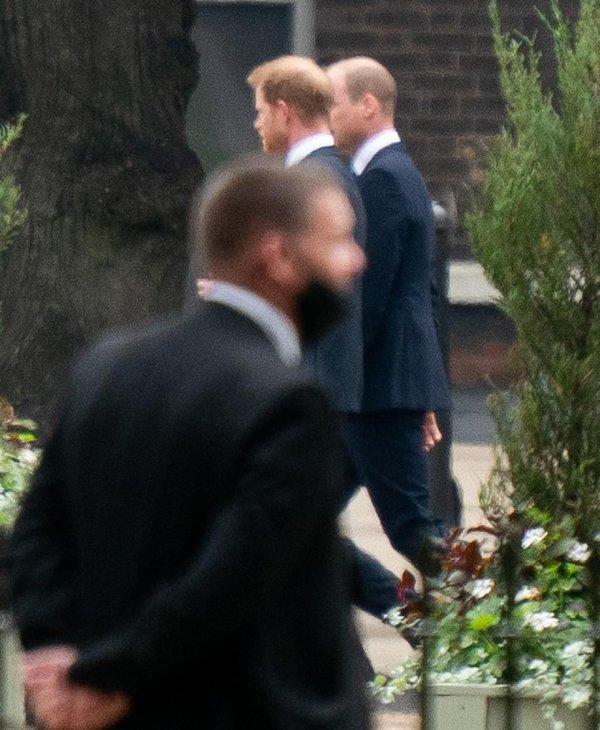William et Harry - Diana, Princess Of Wales Statue Unveiling , le 01er Juillet 2021 _ Suite