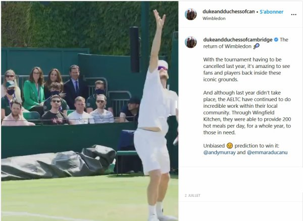 Duchess Catherine - Wimbledon , le 02 juillet 2021 _ Suite