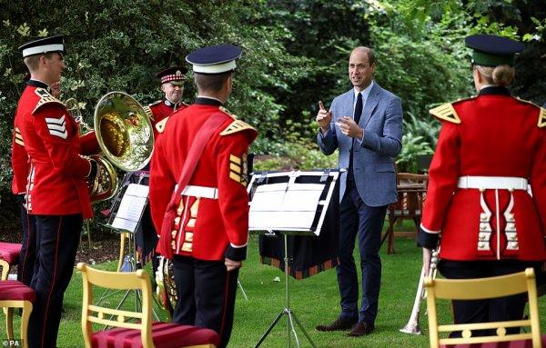 Prince William - NHS Service Of Commemoration, le 05 juillet 2021