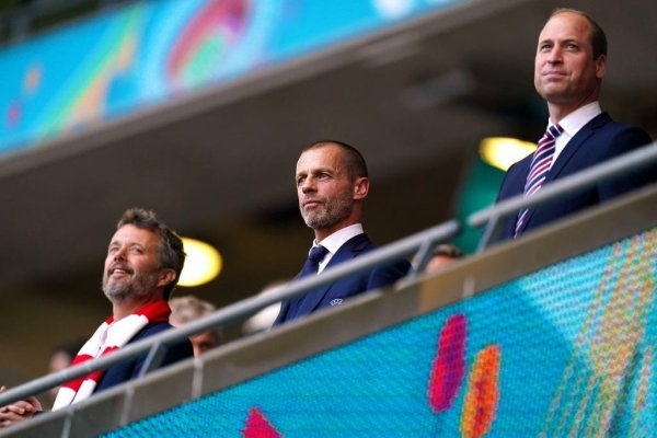 Prince William - the UEFA Euro 2020 Championship Semi-final Match  , le 07 juillet 2021