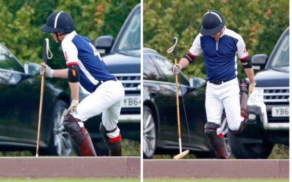 Prince William - Out-Sourcing Inc. Royal Charity Polo Cup, le 09 Juillet  2021