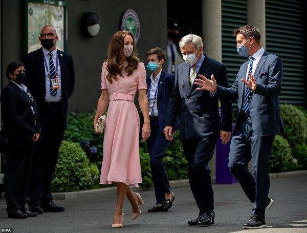 Duchess Catherine - Wimbledon , le 11 Juillet 2021