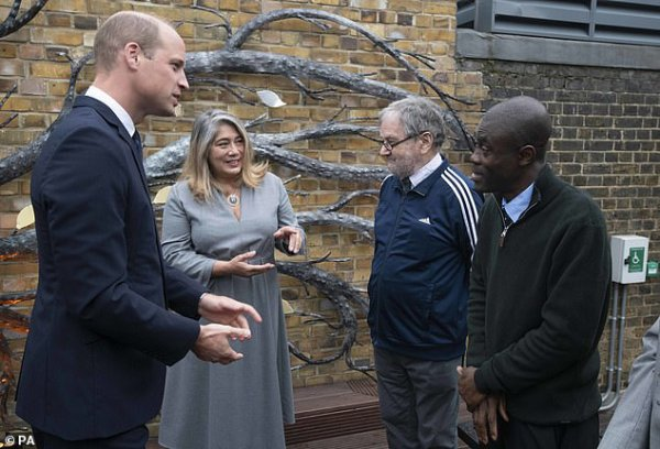 Prince William - 40th Anniversay Homeless Charity The Passage , le 30 Septembre 2021