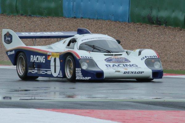 C'est parti ... au volant de la Porsche 956 vainqueur  Le Mans 1982
