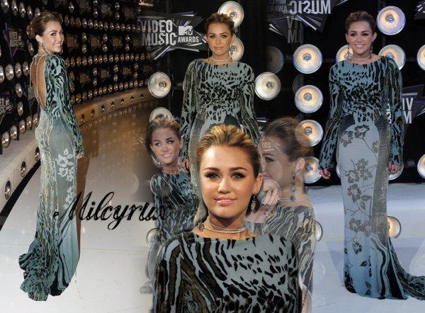 Miley au VMA.