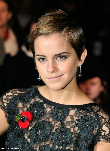Le pixie d'Emma Watson
