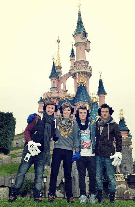 Les Boys a DisneyLand !