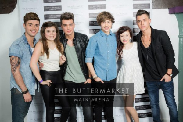 "Les Boys au ""Meet & Greet "" de ""The Buttermarket"""