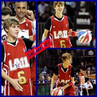 photo justin a la NBA :p