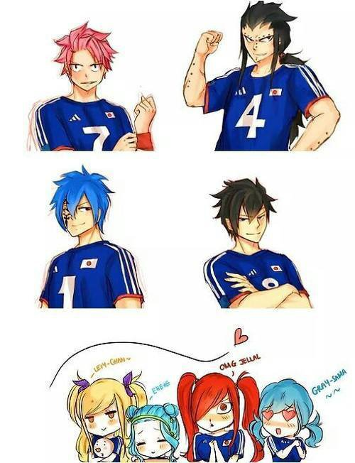 l'équipe du japon