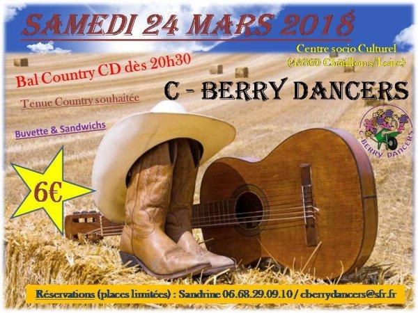 Bal Country CD Samedi 24 mars 2018