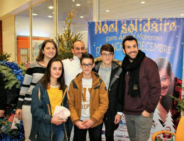Noël Solidaire 2017 avec Laurent Ournac