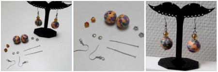 2 kits boucles d'oreilles