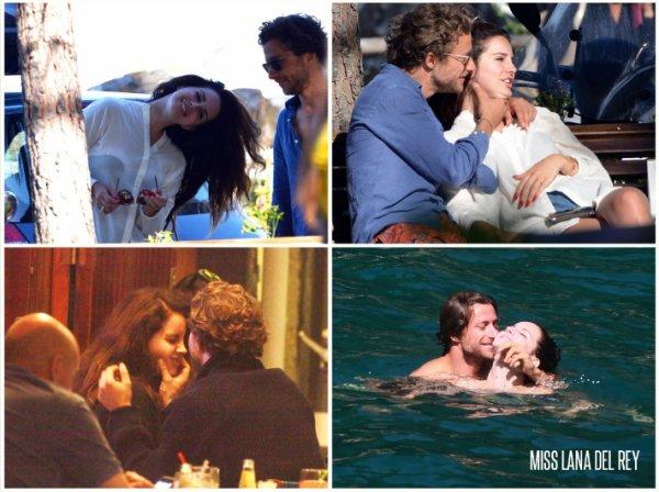 2/07/14 Lana Del Rey et son nouveau boyfriend en Italie !