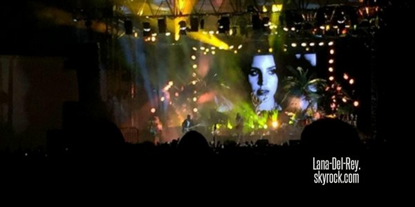 16/10/14 Concert au Hollywood Forever Cemetery, USA