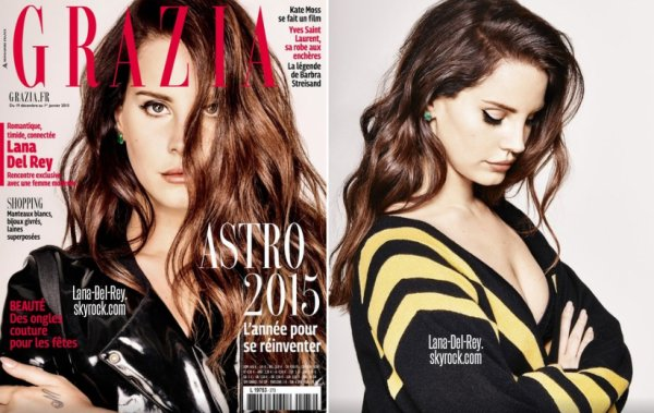 Couverture + photoshoot pour le magazine Grazia France