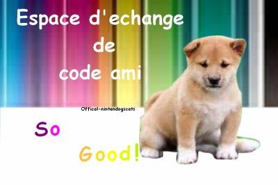 ~ ~ Espace Echange Code Ami 3ds ~ ~