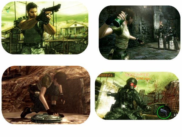 Resident Evil : The Mercinaries 3D