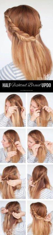 Ma coiffure à moi! ♡♡♡