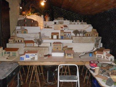 la cr che et son village provencal 2009 ma cr che proven ale. Black Bedroom Furniture Sets. Home Design Ideas