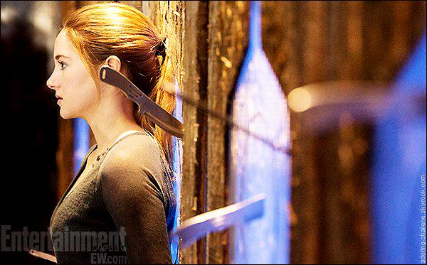 . EW dévoile une première image de Shailene en Tris dans le film Divergent.