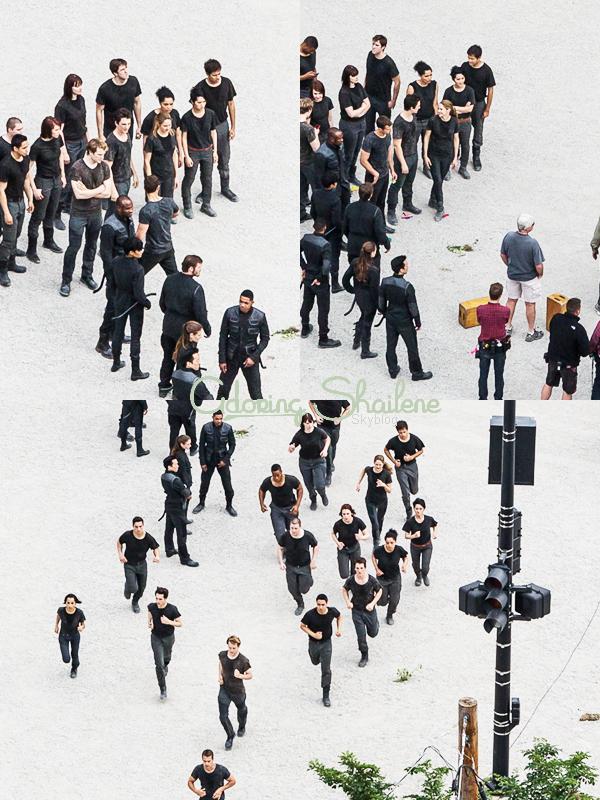 . 10.06: Shailene sur le tournage du film Divergent